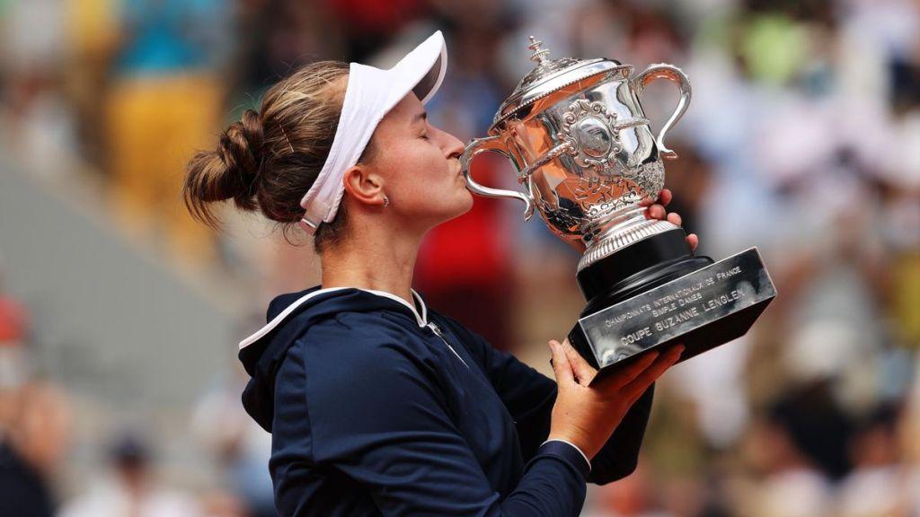 Barbora Krejcikova remporte Roland Garros face à Anastasia Pavlyuchenkova