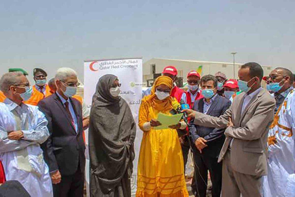 Boutilimitt : don du Qatar d'équipements à l'hôpital Cheikh Hamed