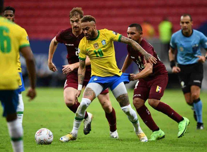 Copa América: le Brésil bat le Venezuela