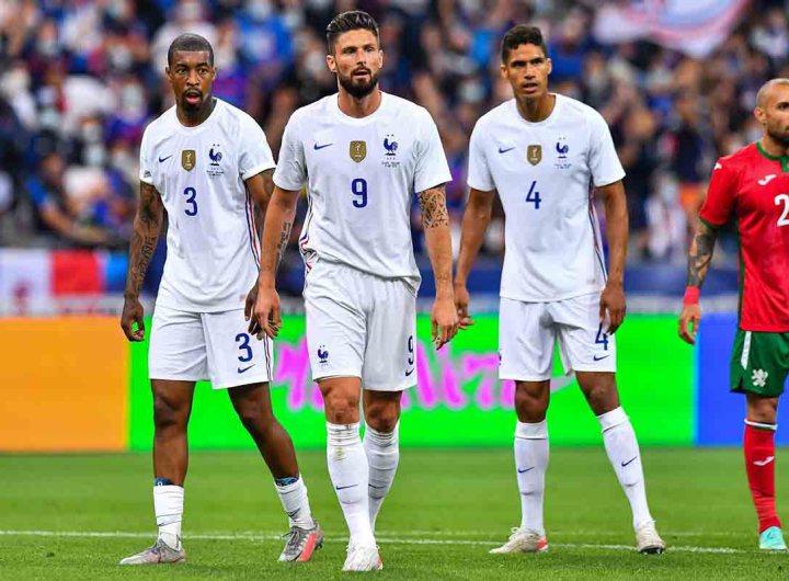 Euro-2021 : la France bat la Bulgarie grâce à Olivier Giroud et Benzema blessé