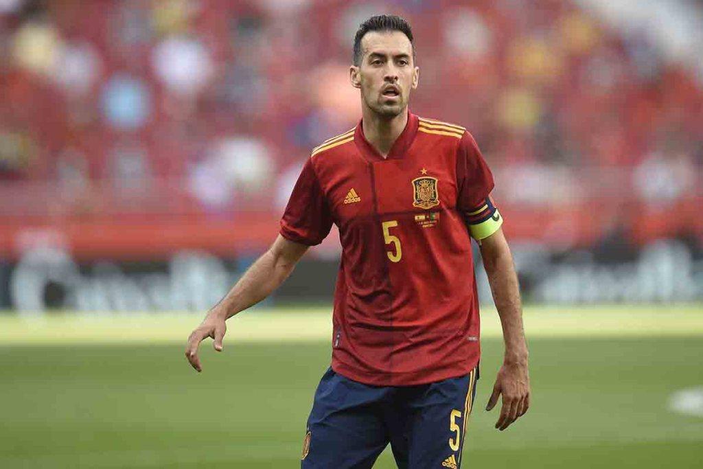 Euro Busquets positif au covid-19, l'Espagne perd son capitaine