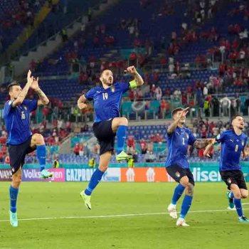 Euro: l'Italie en huitièmes après sa victoire contre la Suisse