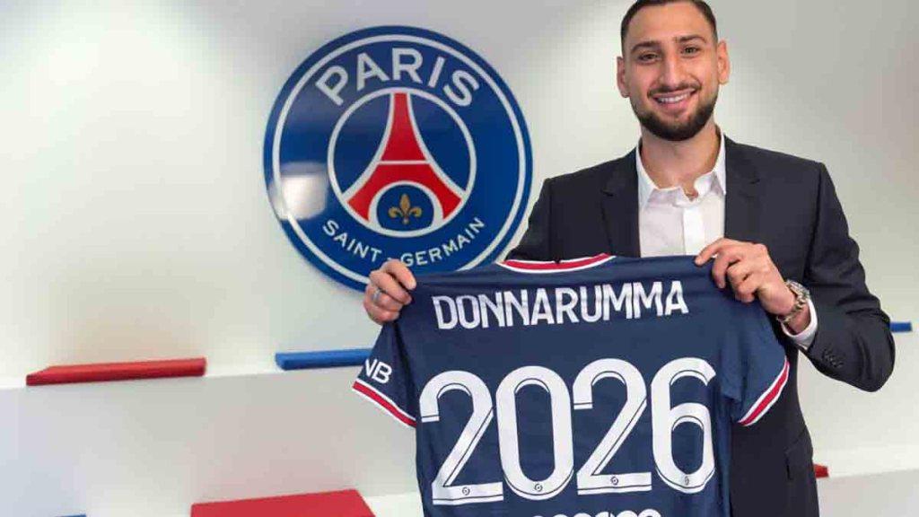 Gianluigi Donnarumma signe au PSG jusqu'en 2026