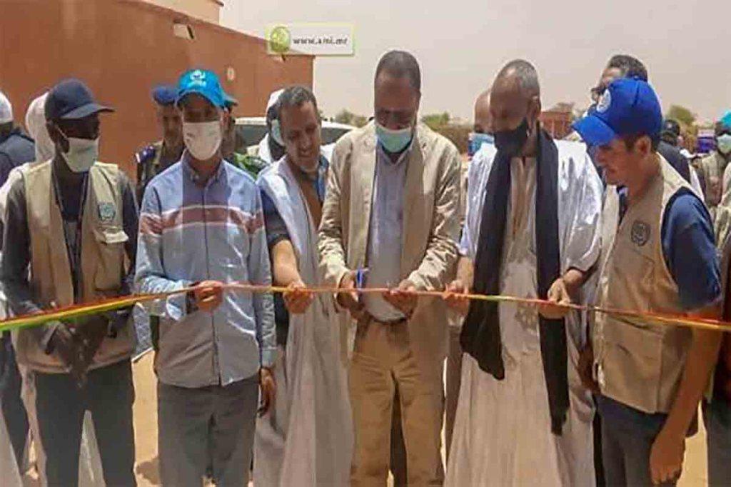 Hodh Chargui: Inauguration d'infrastructures destinées aux réfugiés maliens