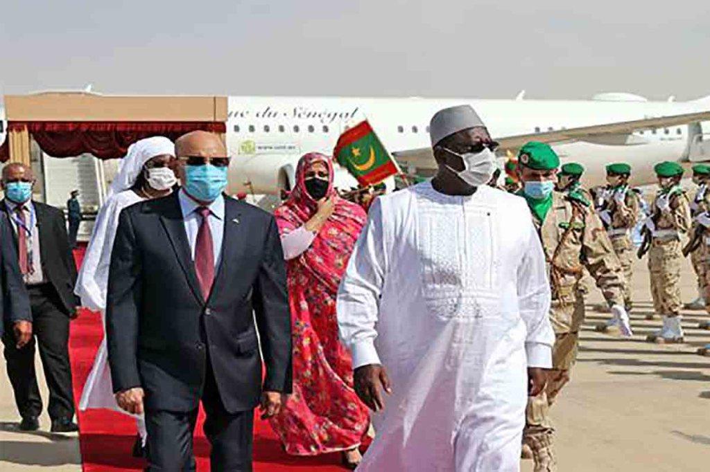 Le Président Macky Sall en visite d'amitié et de travail en Mauritanie