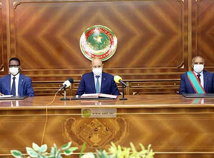 Le nouveau président de la Cour des comptes prête serment
