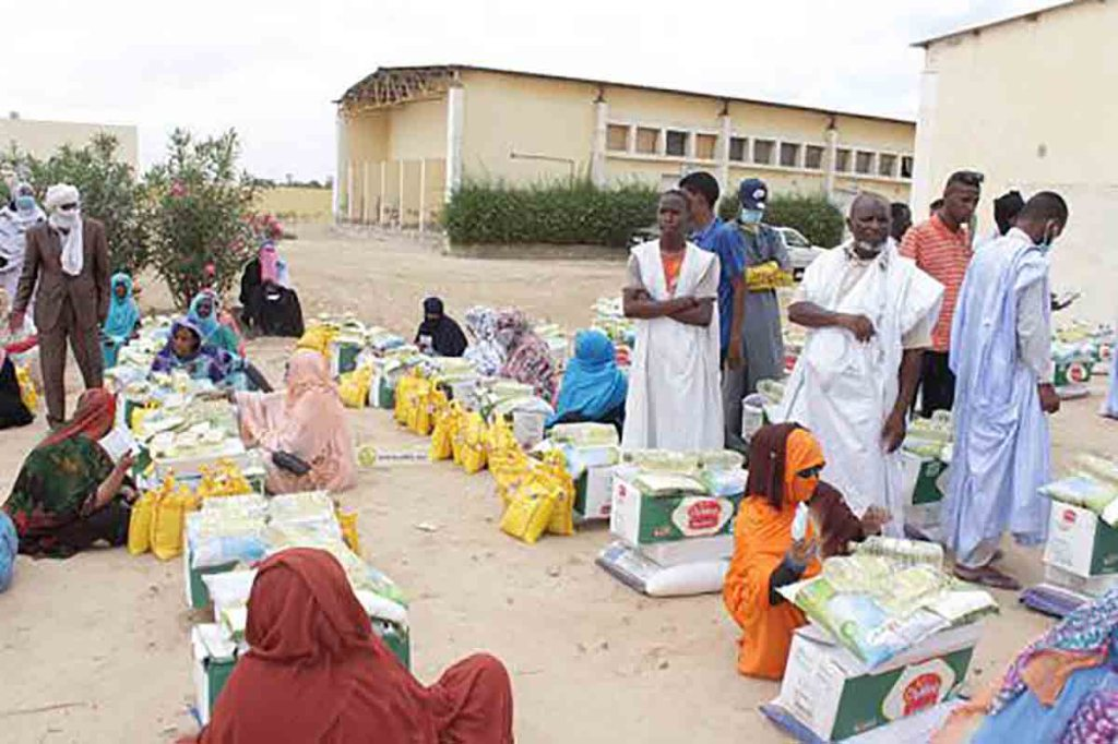 Aide de la fondation des Oulémas aux mosquées et mahadras