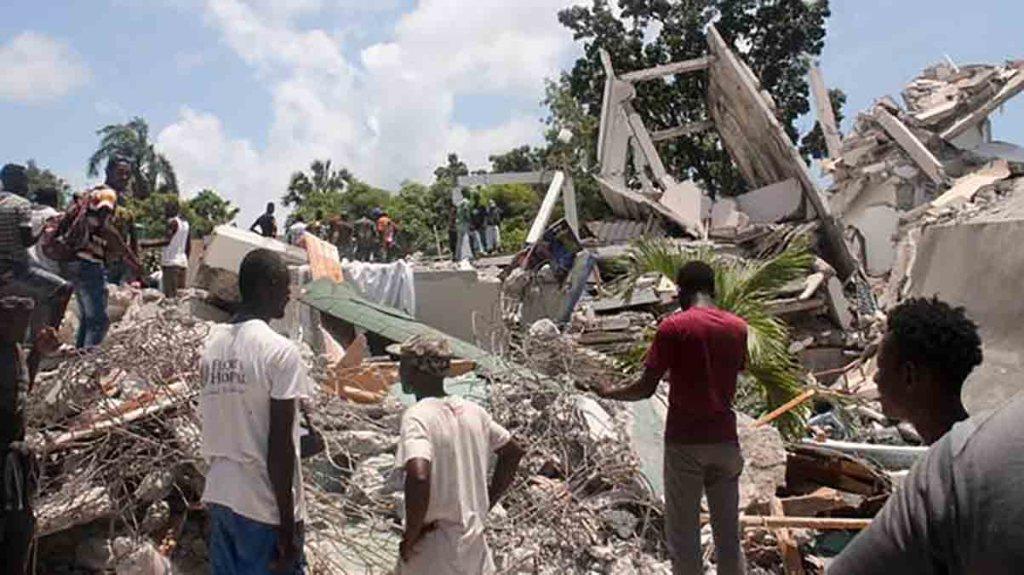 Le bilan du séisme en Haïti dépasse les 2000 morts