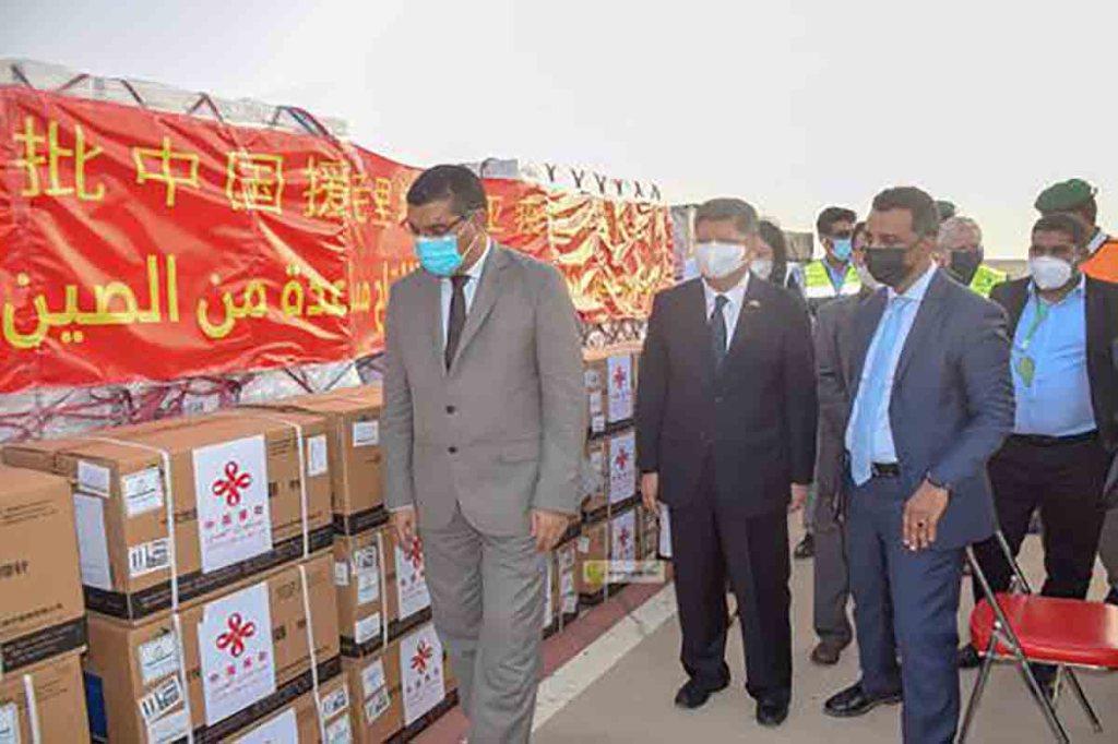 Mauritanie: réception de 20 000 doses du vaccin chinois