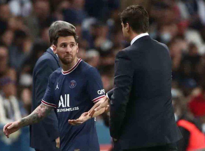 PSG : Pochettino a remplacé Messi (contre son gré) après une petite béquille reçue par l'Argentin