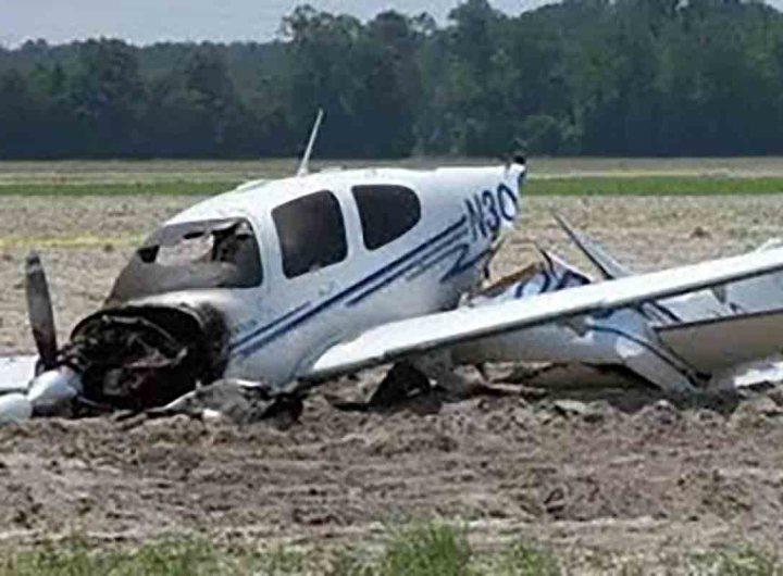 Un avion non identifié s'est crashé entre Rosso et Nouakchott