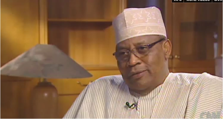 Former head of state, Ibrahim Babangida asked who the current landlord of Aso Rock is