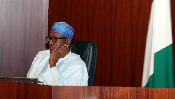 Image result for President Buhari in sober mood