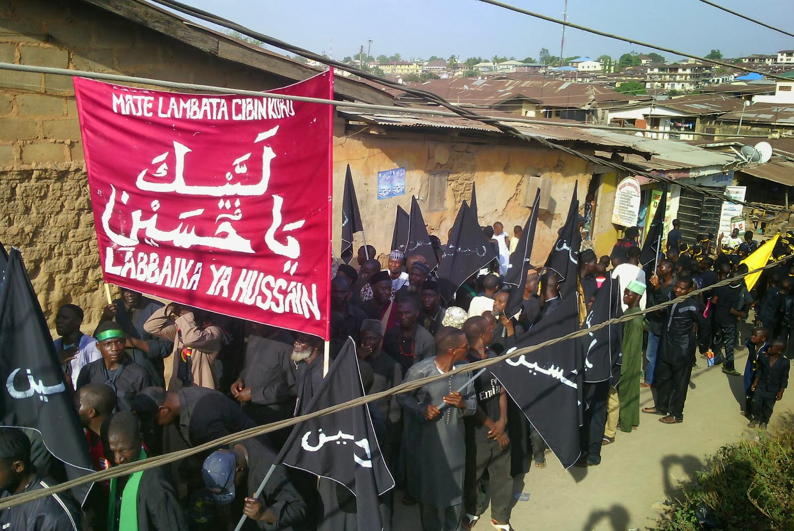 Image result for shias in nigeria during ashura