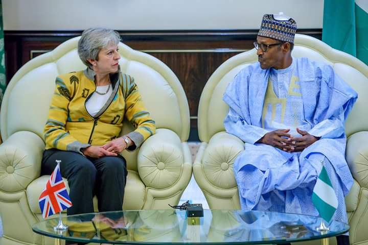 Image result for 2019 elections will be free, fair - Buhari tells Theresa May
