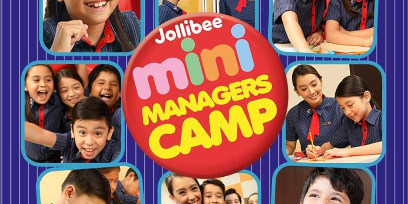 Jollibee Mini Managers Camp
