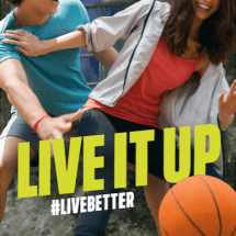 LIVE IT UP Banner FA-Seven AD-061417
