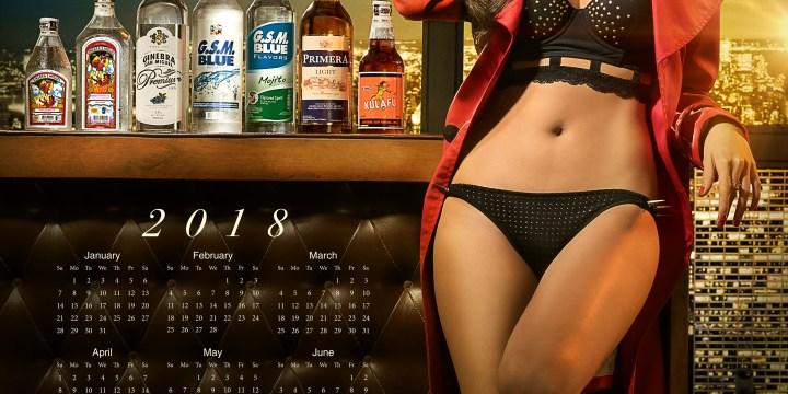 Ginebra San Miguel – GSM Calendar 2018
