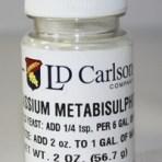 Potassium Metabisulphite – 2 oz.
