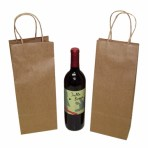 White wine bottle tote bags