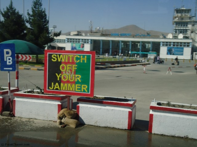Kabul Airport Main Terminal - Switch off Your Jammer