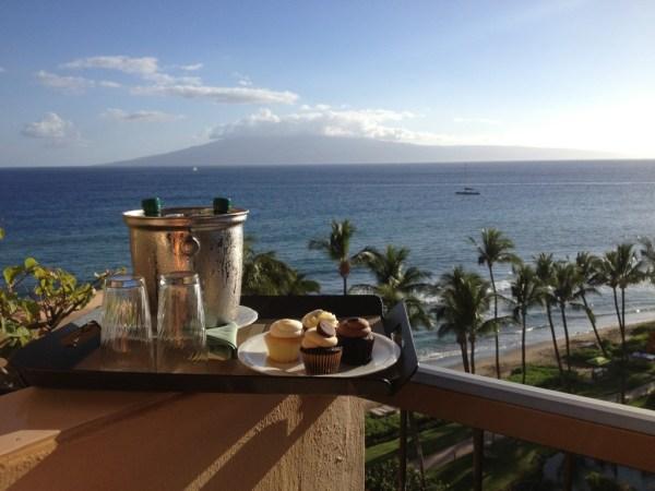 Hyatt Regency Maui Cupcakes