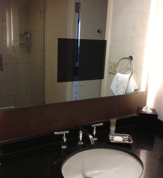 Hyatt Regency San Francisco Embarcadero Suite Bathroom