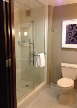 Hyatt Regency Sacramento Renovated Bathroom
