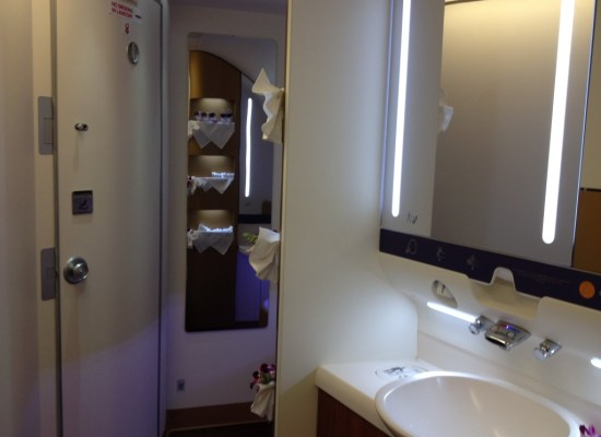 First Class Bathroom Thai Airways A380