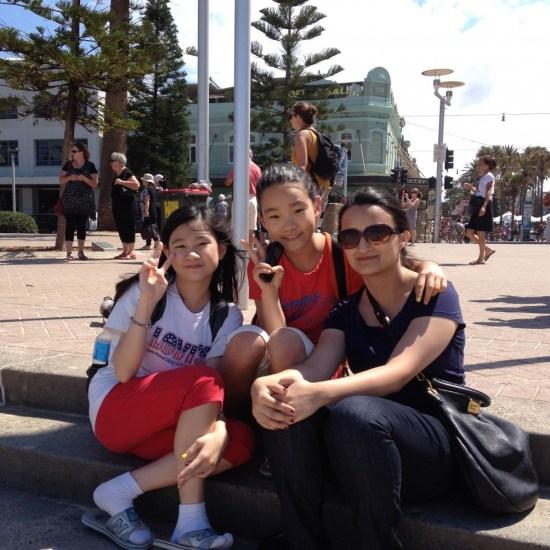 Ferry to Manly Beach Sydney Australia