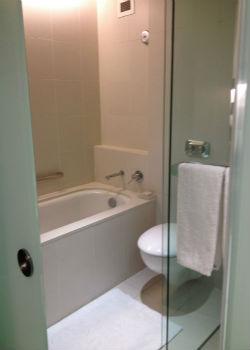 Hilton Sydney Executive bathroom
