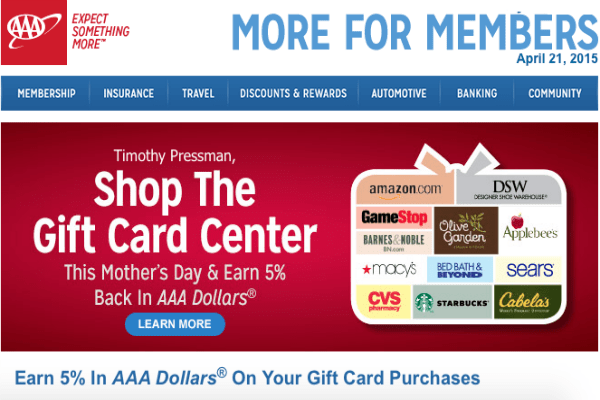 The Gift Card Gallery by Giant Eagle has hundreds of name brand retailer gift cards available. Many are available as eGift Cards, which will be immediately sent to whomever you choose via their email address. You'll also earn special bonus' exclusive to Giant Eagle .