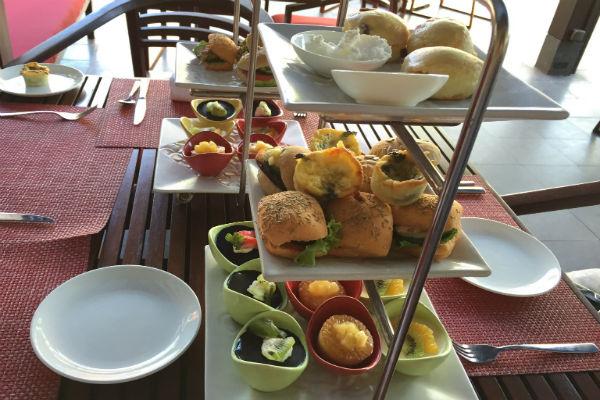 Afternoon tea at Conrad Bali RIN