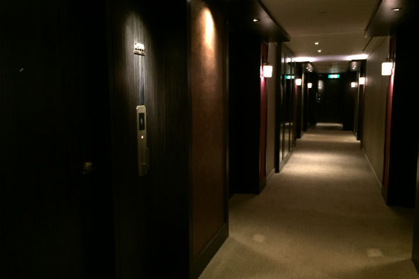 Grand Hyatt Hong Kong Hallway