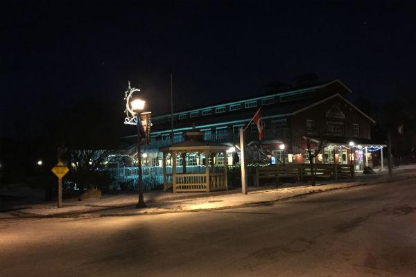 Stars Hollow Town Gazebo in Unionville Ontario