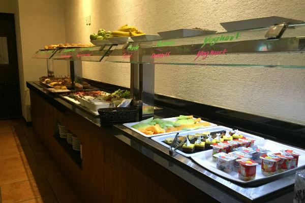 Food Spread at 24 Hour Deli Cactus Hyatt Ziva Los Cabos