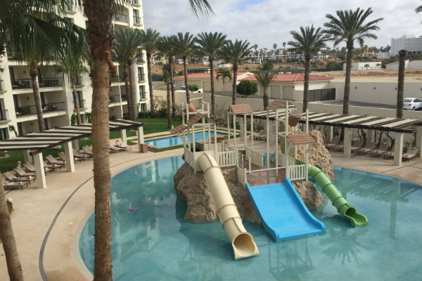 The kids pool at the Hyatt Ziva Los Cabos