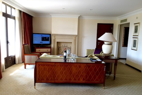 Hyatt Regency Thessaloniki Diamond Elite Upgrade Executive Suite
