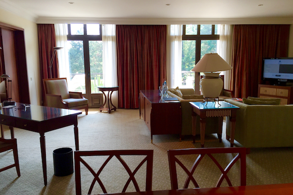 Executive Suite Living Room Hyatt Regency Thessaloniki