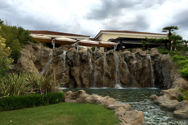 Waterfall Hyatt Regency Thessaloniki Ambrosia Restaurant