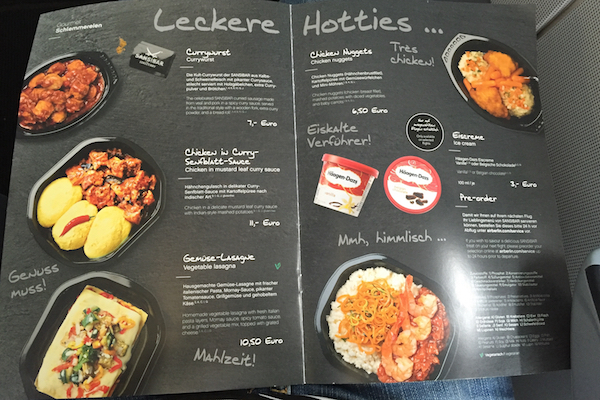 Airberlin Economy Class Meals for Sale Munich to Thessaloniki