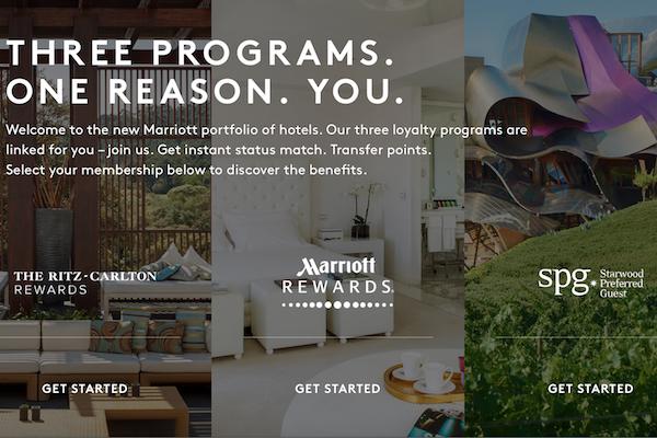 Starwood Marriott Merger Reciprocal Benefits