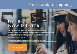 5 Percent Back Visa Deal on GiftCardMall