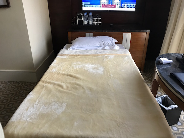 Review Conrad Makkah Extra Bed