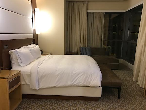 Conrad Makkah Hotel Review Haram View Suite Bedroom