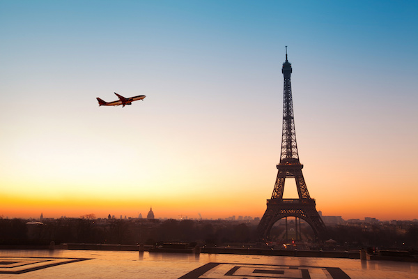 IHG Hotels Anywhere fly to Paris Eiffel Tower