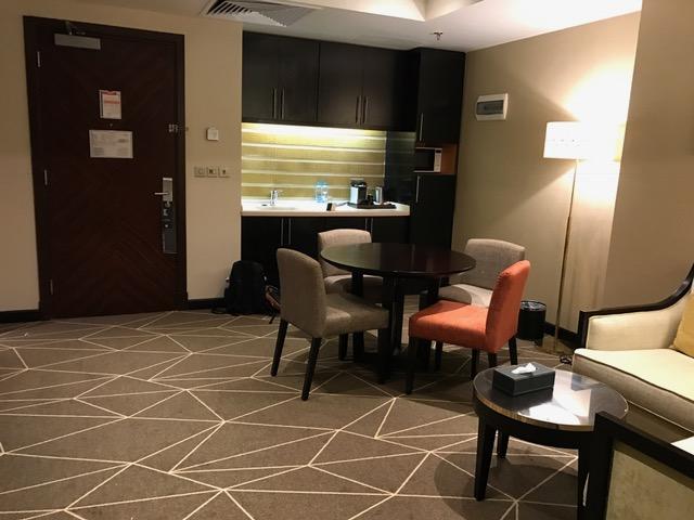 Pullman ZamZam Madinah 2-Bedroom Executive Suite Kitchenette