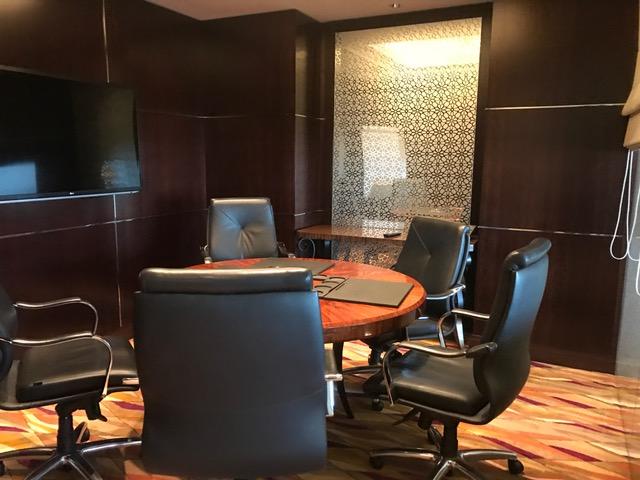 Conrad Dubai Executive Lounge Conference Room