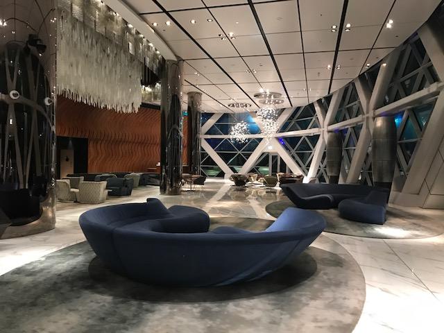 Hyatt Capital Gate Abu Dhabi Building Lobby