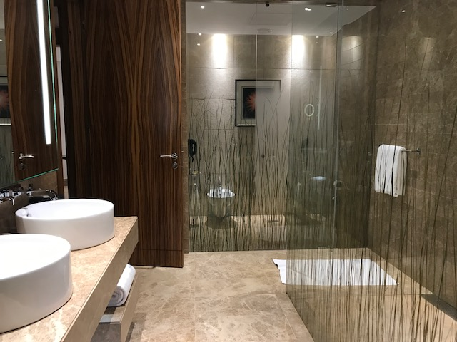 Hyatt Capital Gate Abu Dhabi Executive Suite Master Bathroom